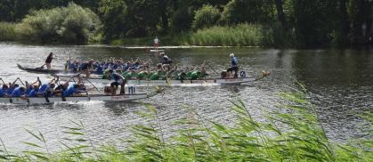 Viele knappe Rennen bestimmten den zehnten Dessauer Fun- und Firmencup.